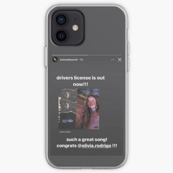 Driver's License Instagram Story - Joshua Bassett Olivia Rodrigo iPhone Soft Case RB0906 product Offical Unus Annus Merch