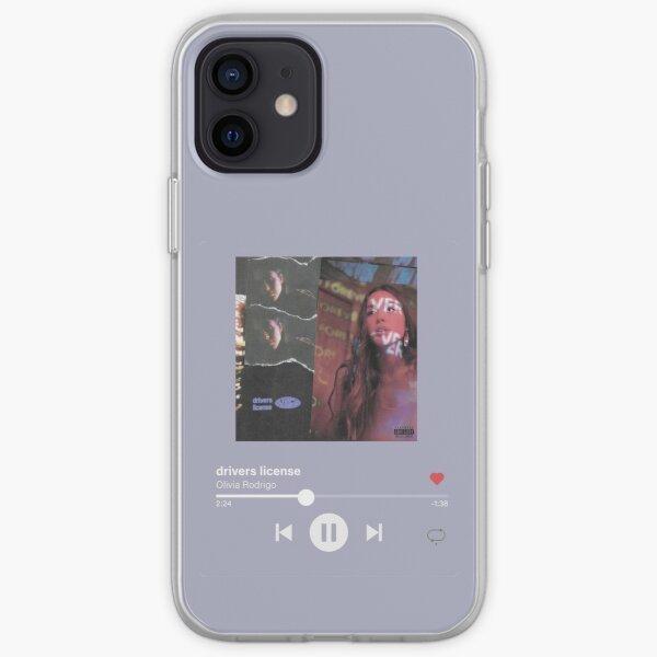 olivia rodrigo drivers license - lilac iPhone Soft Case RB0906 product Offical Unus Annus Merch