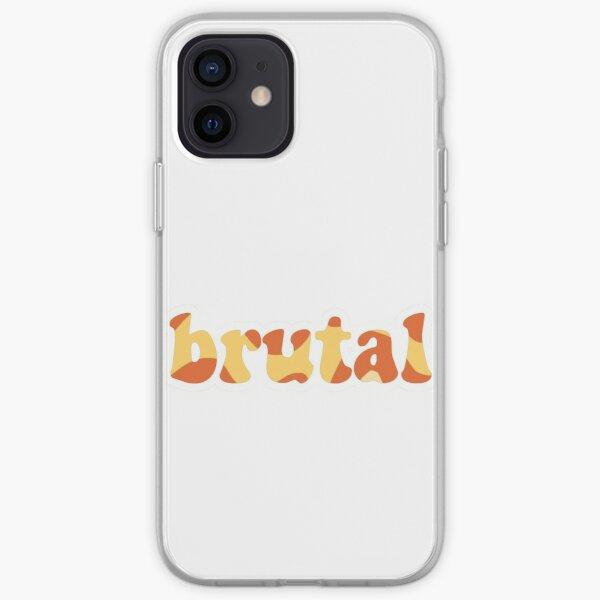 olivia rodrigo brutal  iPhone Soft Case RB0906 product Offical Unus Annus Merch