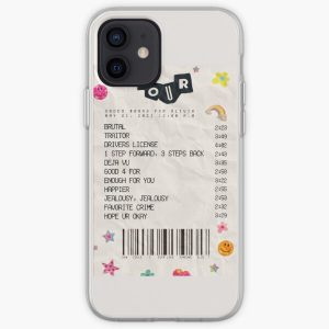 Olivia Rodrigo Sour Receipt iPhone Soft Case RB0906 product Offical Unus Annus Merch