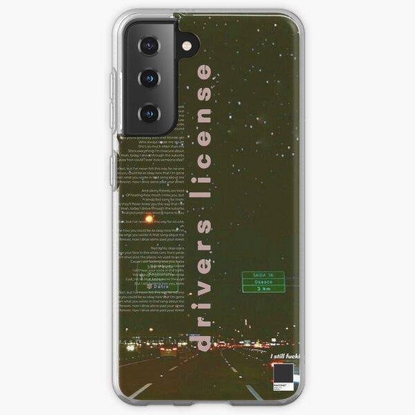 Drivers License Olivia Rodrigo Poster Samsung Galaxy Soft Case RB0906 product Offical Unus Annus Merch