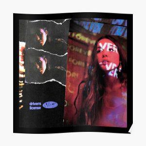 Olivia Rodrigo Album Poster RB0906 product Offical Unus Annus Merch