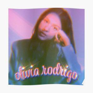 Olivia Rodrigo Pink Blur Poster RB0906 product Offical Unus Annus Merch