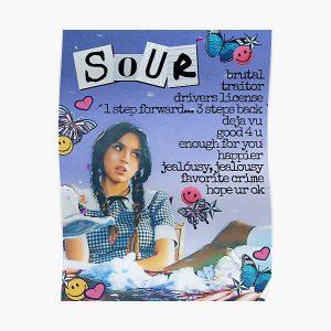 SOUR Olivia Rodrigo Poster RB0906 product Offical Unus Annus Merch