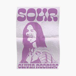 Olivia Rodrigo SOUR Poster RB0906 product Offical Unus Annus Merch