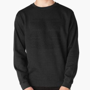 Driver License Olivia Rodrigo Lyrics  | Gift  Pullover Sweatshirt RB1106 product Offical Olivia Rodrigo Merch