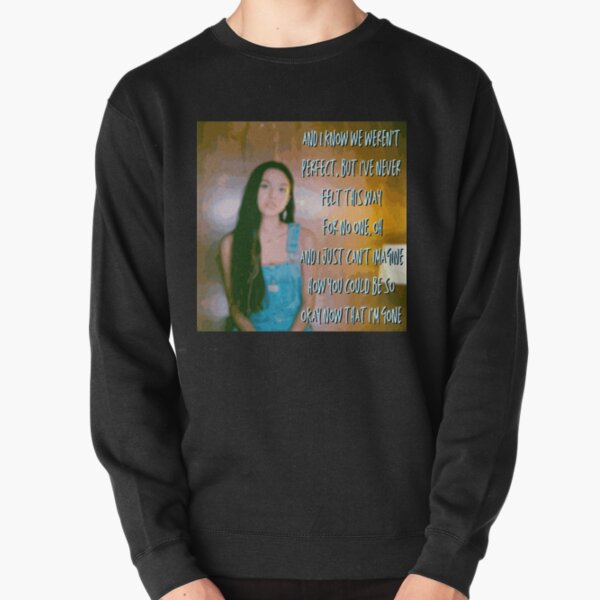 Olivia Rodrigo Drivers License Lyrics 2 Pullover Sweatshirt RB1106 product Offical Olivia Rodrigo Merch