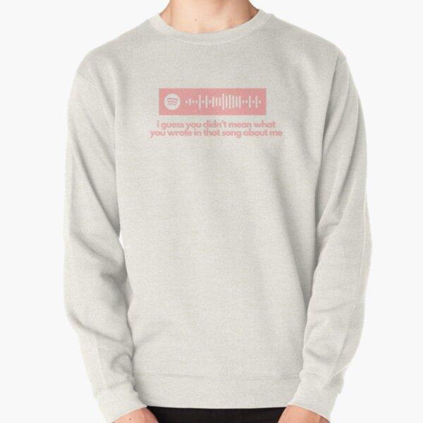 Olivia Rodrigo Drivers License Spotify Code & Lyrics Pullover Sweatshirt RB1106 product Offical Olivia Rodrigo Merch