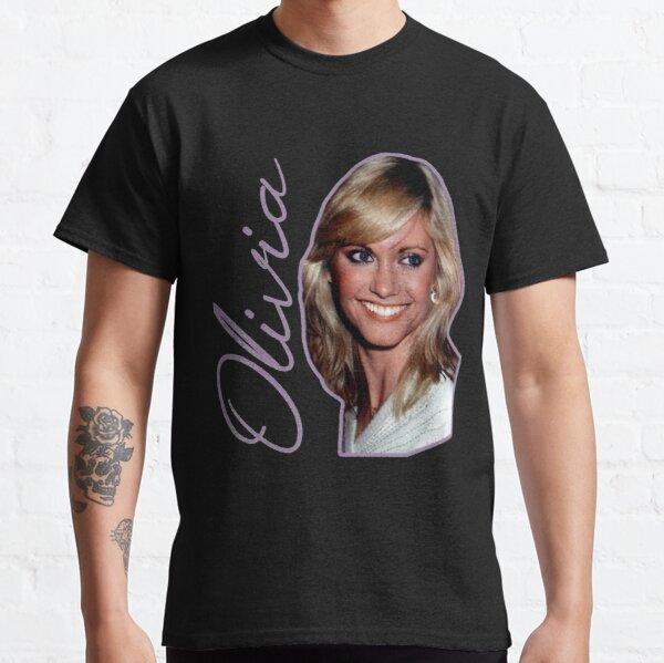 Olivia Newton John  Only Single Name  Classic T-Shirt RB0906 product Offical Unus Annus Merch