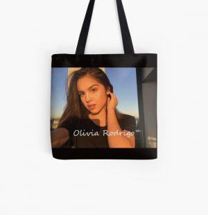 OLIVIA RODRIGO vector  | Gift  All Over Print Tote Bag RB0906 product Offical Unus Annus Merch
