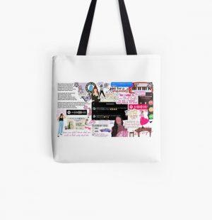 Olivia Rodrigo Collage All Over Print Tote Bag RB0906 product Offical Unus Annus Merch