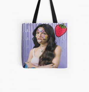 Olivia Rodrigo Target, Olivia Rodrigo, SourOlivia Rodrigo All Over Print Tote Bag RB0906 product Offical Unus Annus Merch