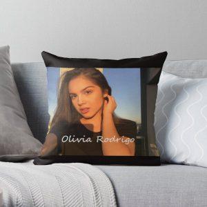 OLIVIA RODRIGO vector  | Gift  Throw Pillow RB0906 product Offical Unus Annus Merch
