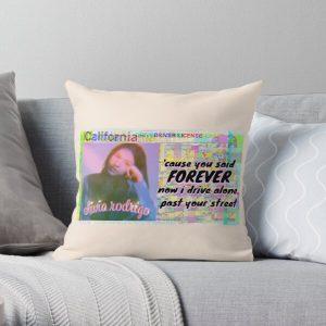 Olivia Rodrigo Drivers License Throw Pillow RB0906 product Offical Unus Annus Merch