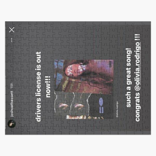 Driver's License Instagram Story - Joshua Bassett Olivia Rodrigo Jigsaw Puzzle RB0906 product Offical Unus Annus Merch