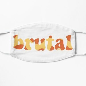 olivia rodrigo brutal  Flat Mask RB0906 product Offical Unus Annus Merch