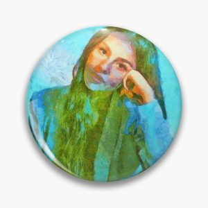 Olivia Rodrigo Fan Art Impressionist Painting In The Style Of Vincent Van Gogh Pin RB0906 product Offical Unus Annus Merch