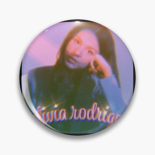 Olivia Rodrigo Pink Blur    Gift  Pin RB0906 product Offical Unus Annus Merch