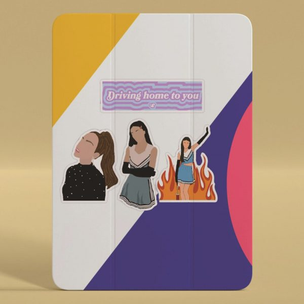 10 50pcs Hot Singer Olivia Rodrigo Sour Stickers For Car Laptop PVC Backpack Water Bottle Pad 2 - Olivia Rodrigo Merch