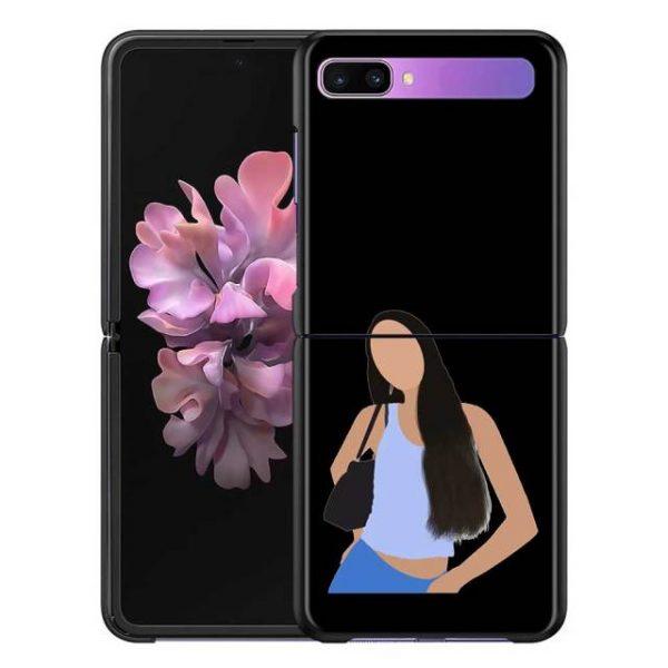 Olivia Rodrigo Phone Case for Samsung Galaxy Z Flip Cover For ZFlip 5G Cover Black Foldable 11.jpg 640x640 11 - Olivia Rodrigo Merch
