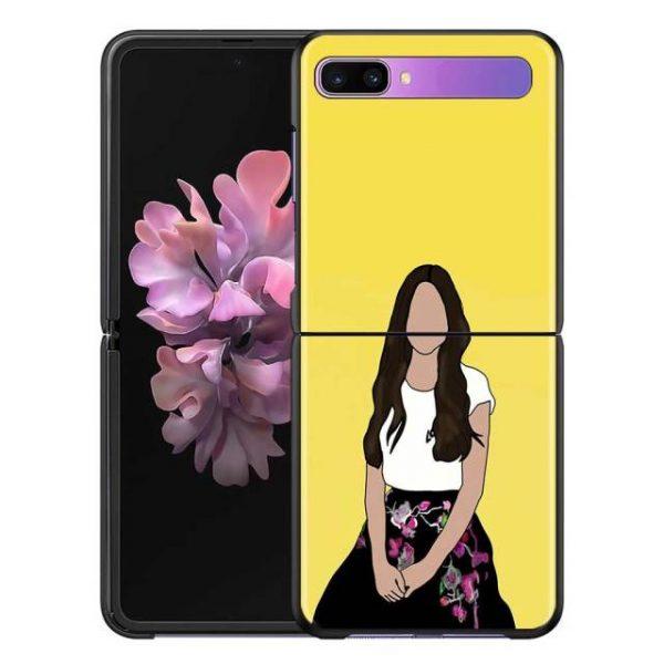Olivia Rodrigo Phone Case for Samsung Galaxy Z Flip Cover For ZFlip 5G Cover Black Foldable 2.jpg 640x640 2 - Olivia Rodrigo Merch