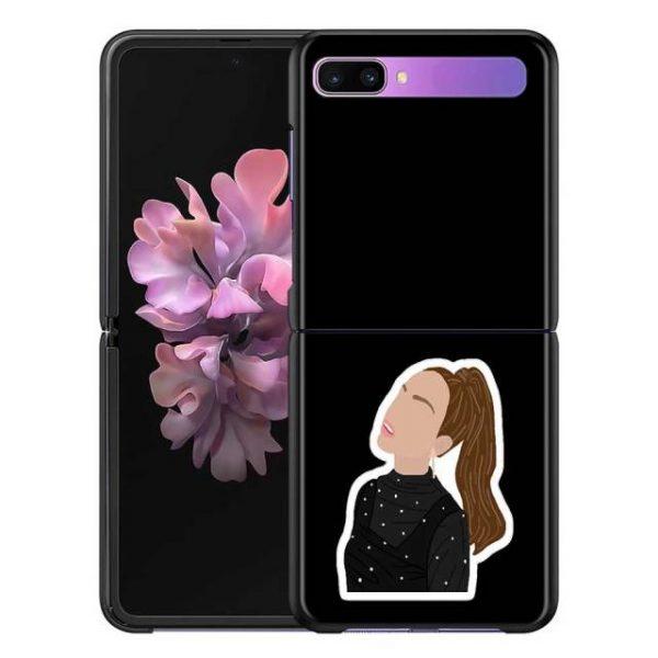 Olivia Rodrigo Phone Case for Samsung Galaxy Z Flip Cover For ZFlip 5G Cover Black Foldable 5.jpg 640x640 5 - Olivia Rodrigo Merch
