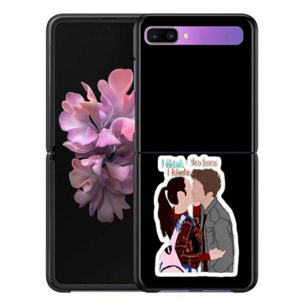 Olivia Rodrigo Phone Case for Samsung Galaxy Z Flip Cover For ZFlip 5G Cover Black Foldable 6.jpg 640x640 6 - Olivia Rodrigo Merch
