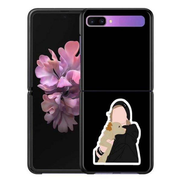Olivia Rodrigo Phone Case for Samsung Galaxy Z Flip Cover For ZFlip 5G Cover Black Foldable 8.jpg 640x640 8 - Olivia Rodrigo Merch