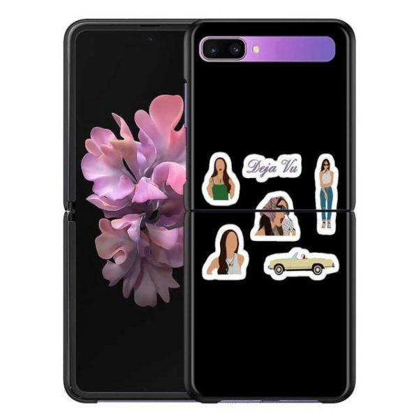 Olivia Rodrigo Phone Case for Samsung Galaxy Z Flip Cover For ZFlip 5G Cover Black Foldable 9.jpg 640x640 9 - Olivia Rodrigo Merch