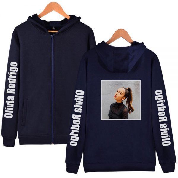 Y2K Kawaii Olivia Rodrigo Hoodies Zipper Hot Fashion Hoodie Sweatshirt 2021 New Casual Cotton Harajuku Streetwear 3 - Olivia Rodrigo Merch