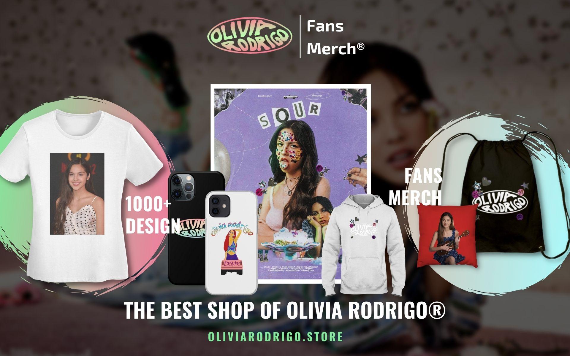 Olivia Rodrigo Merch Web Banner 1 - Olivia Rodrigo Merch